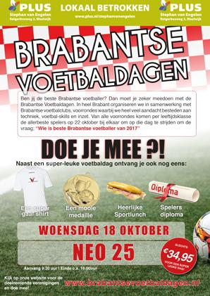 Brabantse Voetbaldag bij NEO'25 op de Gaard!