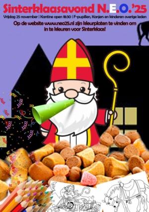Sinterklaas avond voor F-pupillen en Kanjers